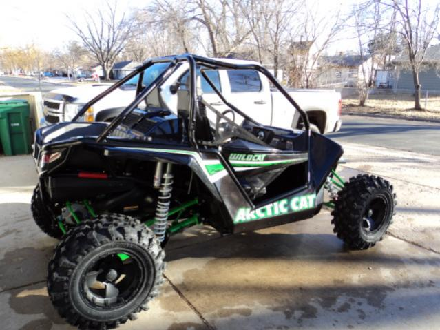 Arctic Cat Wildcat 1000 Side By Side Demo