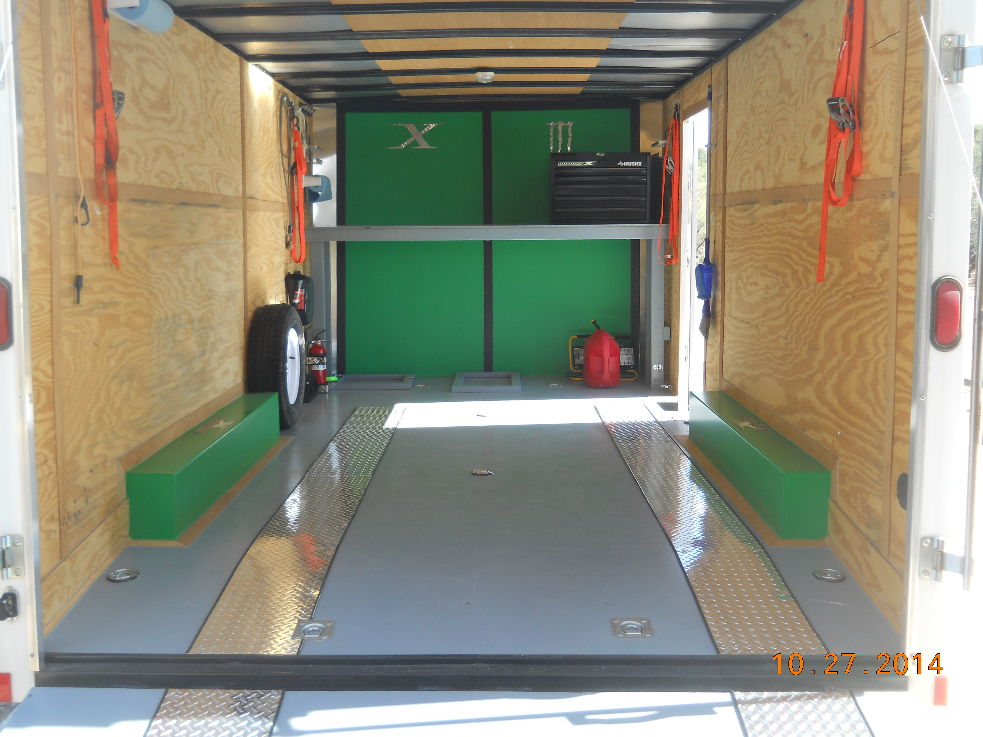 Enclosed Trailer Setups