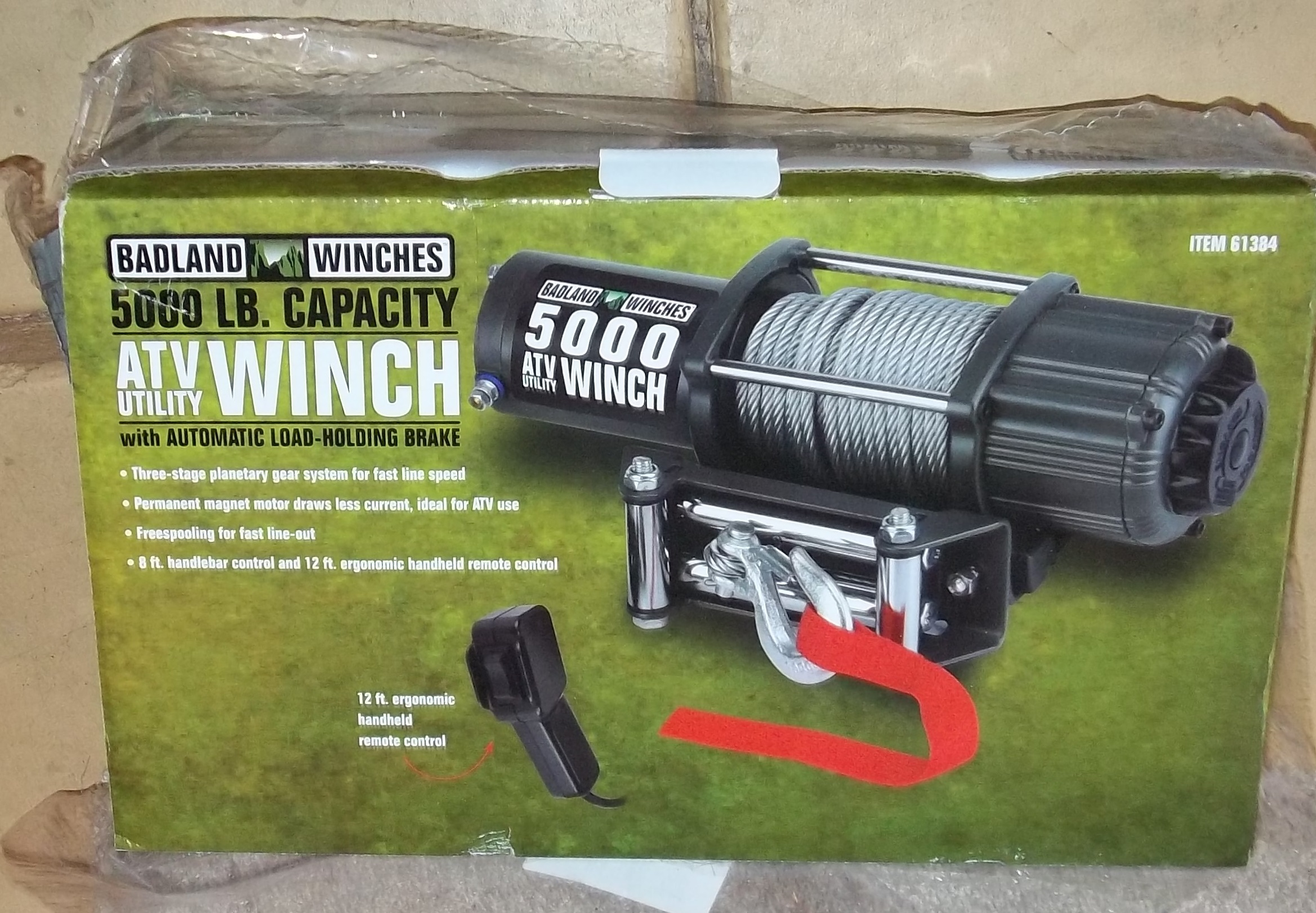 Badlands 5000lbs Winch Installation Review 12 Volt Electric Wiring Diagram Name 100 1522 Views 17654 Size 101