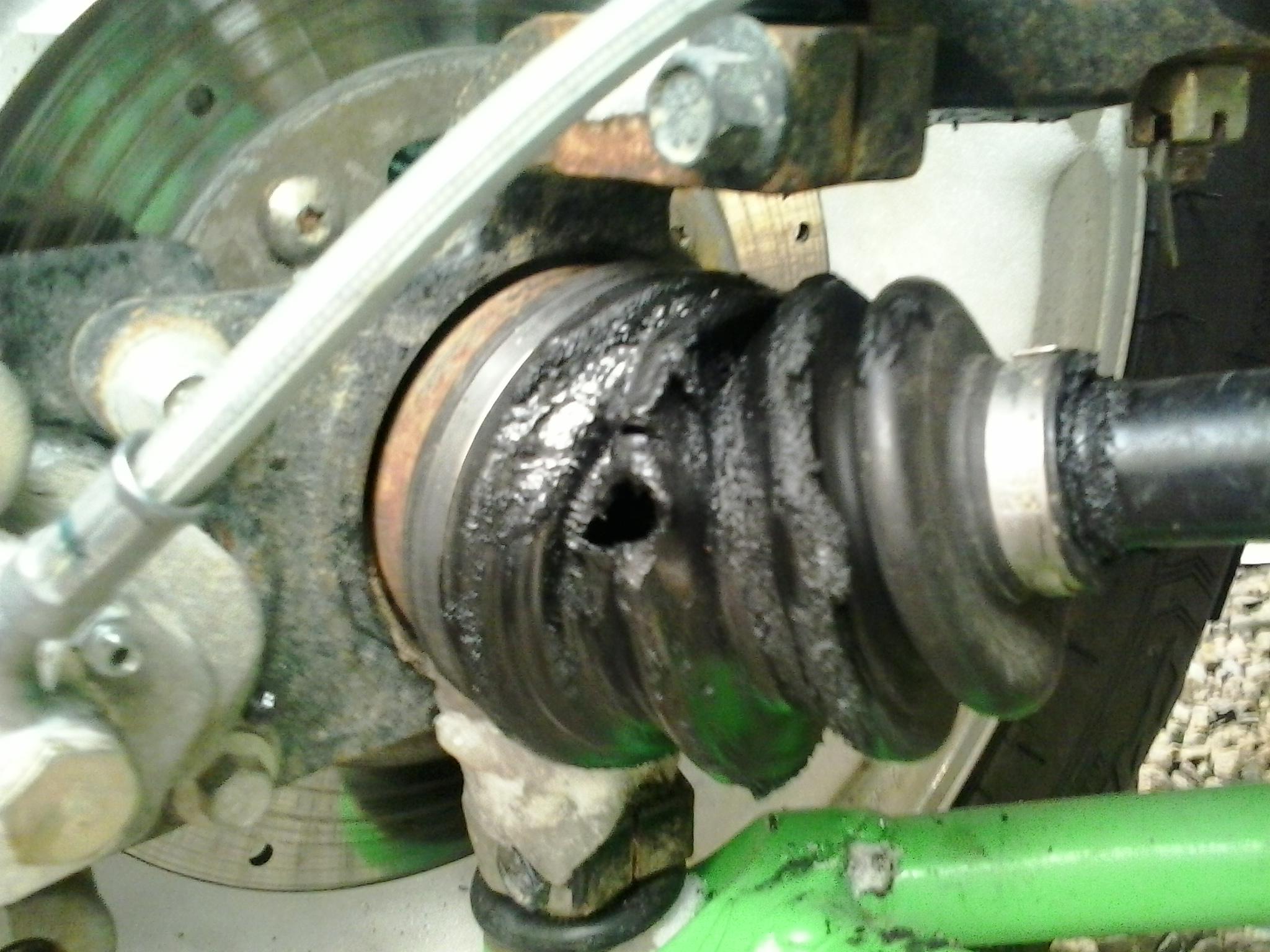 Outer Cv Boot Torn