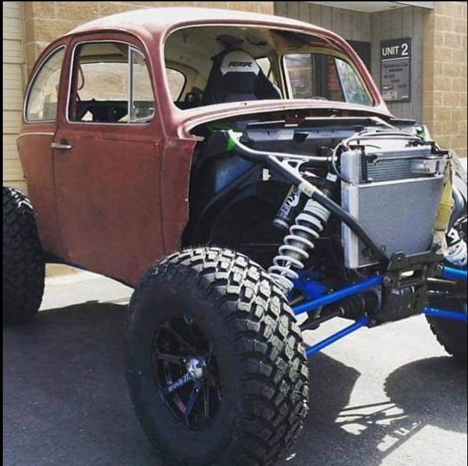 Baja Bug Turbo Rzr Project