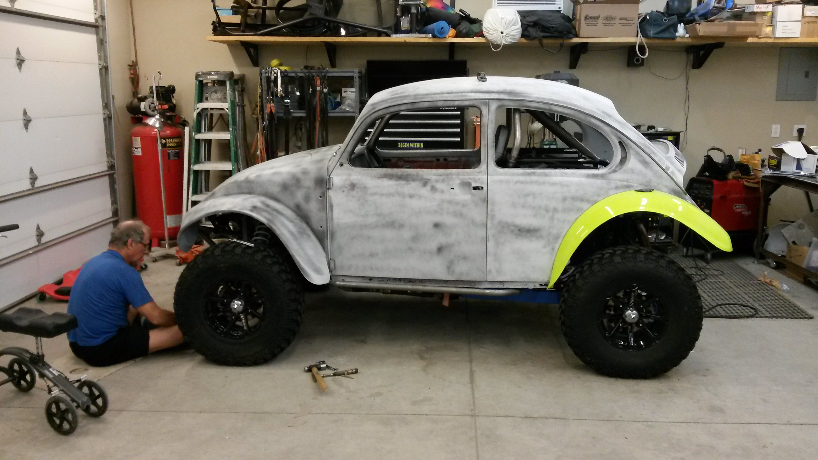 Baja bug suspension