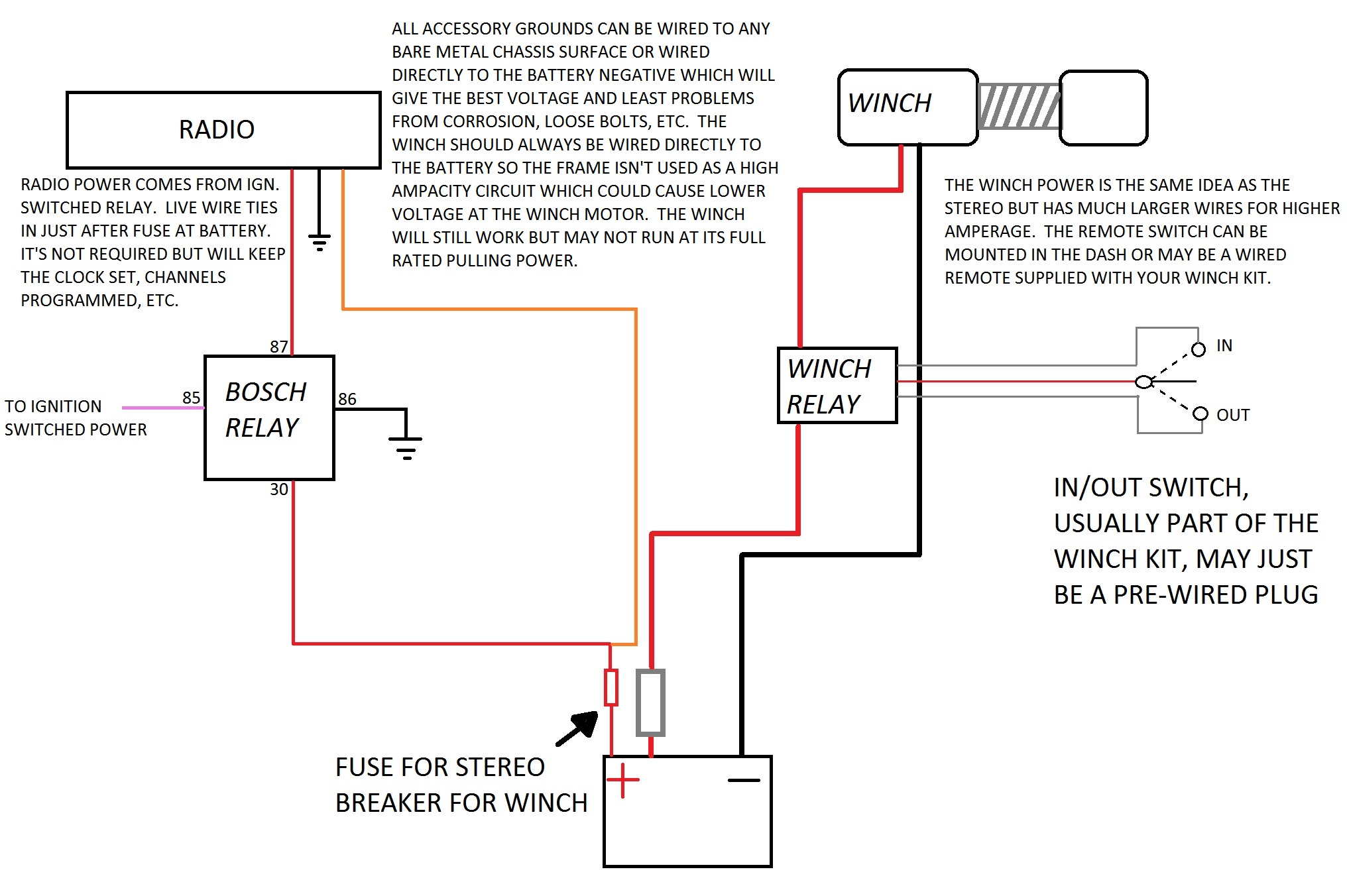 35780d1436212109 radio wiring accessory wiring radio wiring bear claw winch wiring diagram at edmiracle.co