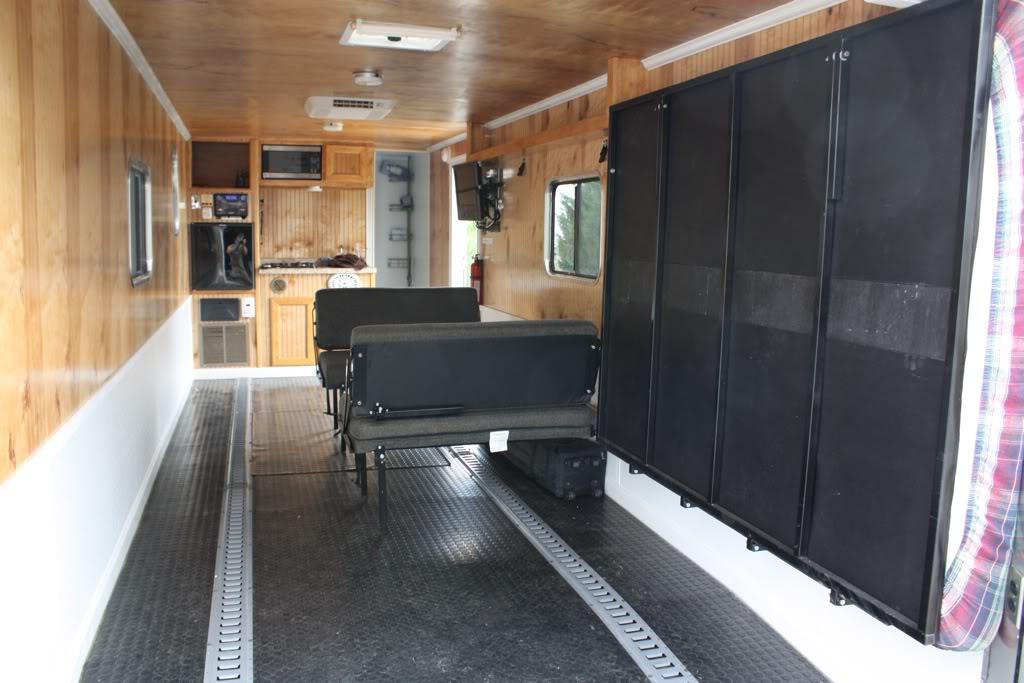 Cargo Trailer Ramp Door Or Barn Doors