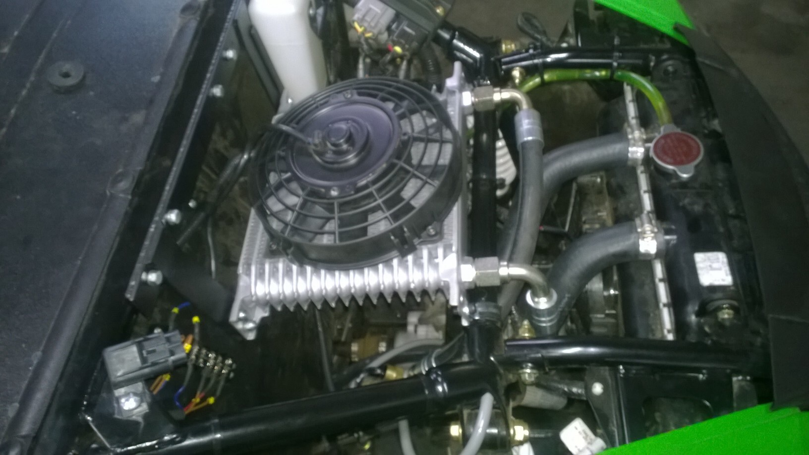 Oil Cooler Is Done