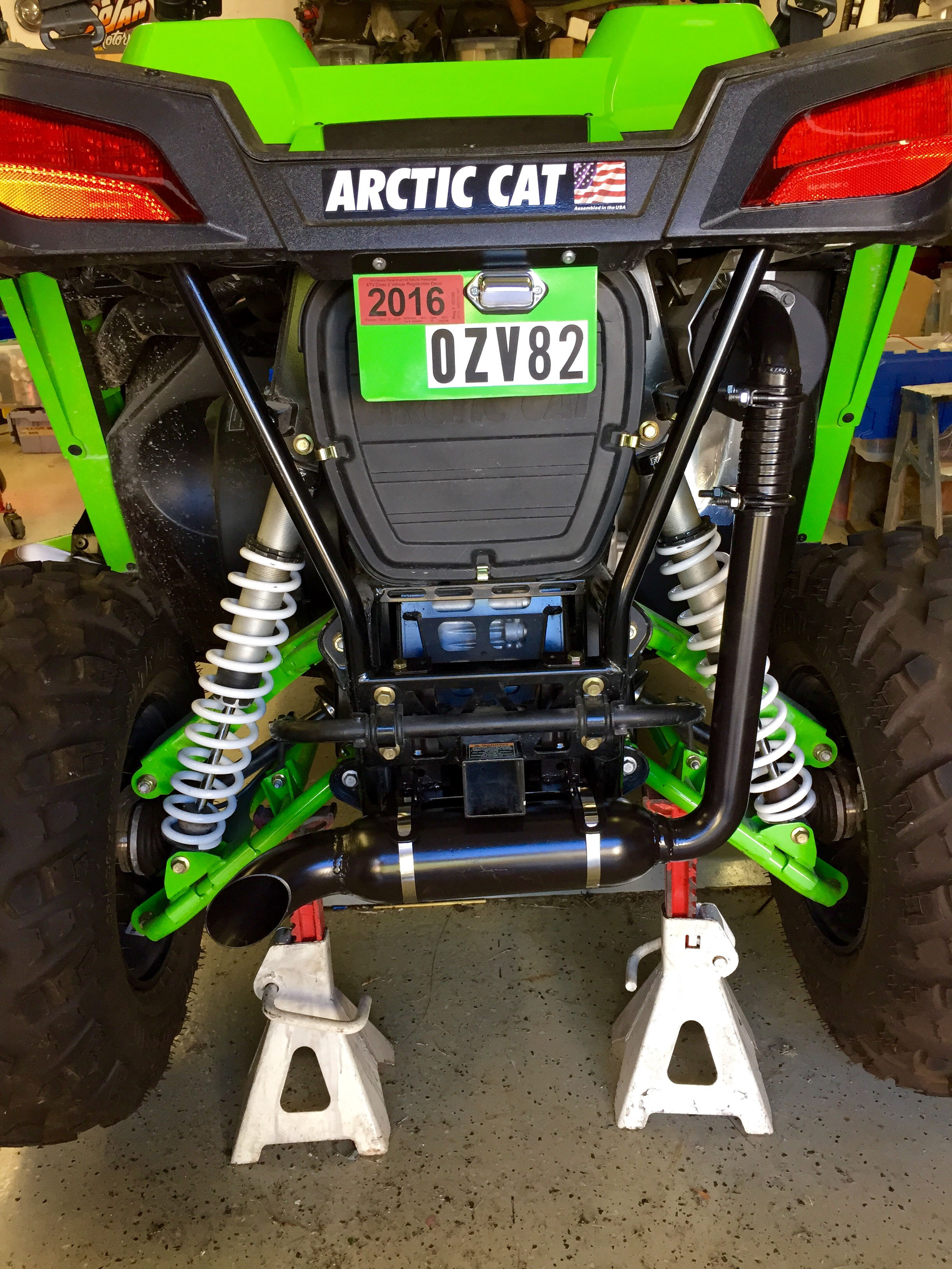 Arctic Cat Wildcat Trail Spare Tire Carrier