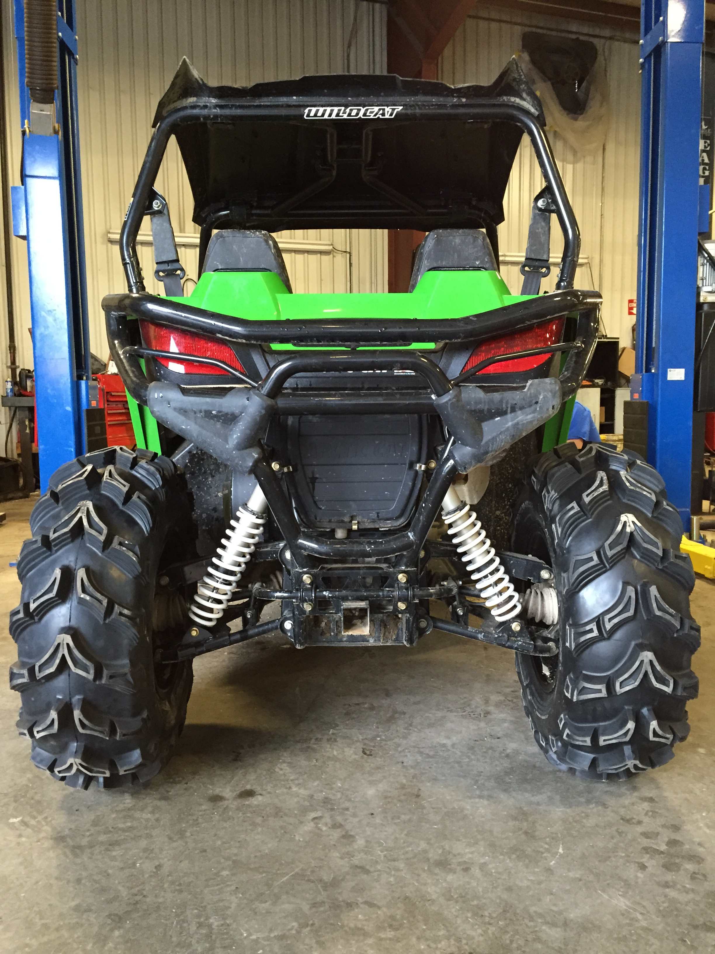 How Much Is A Wheel Alignment >> Wildcat Trail Ground Clearance; Bigger tires or Lift Kit
