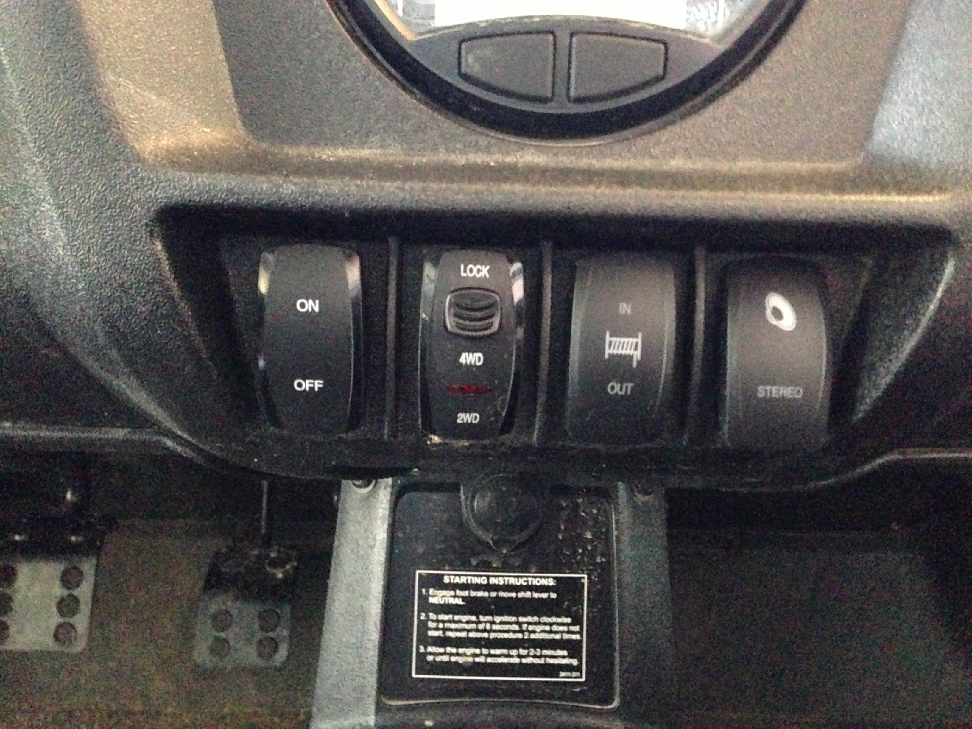 Warn Xt40 Installed With Custom Dash Switch Wiring Diagram Name Img 0107 Views 1081 Size 210 Mb