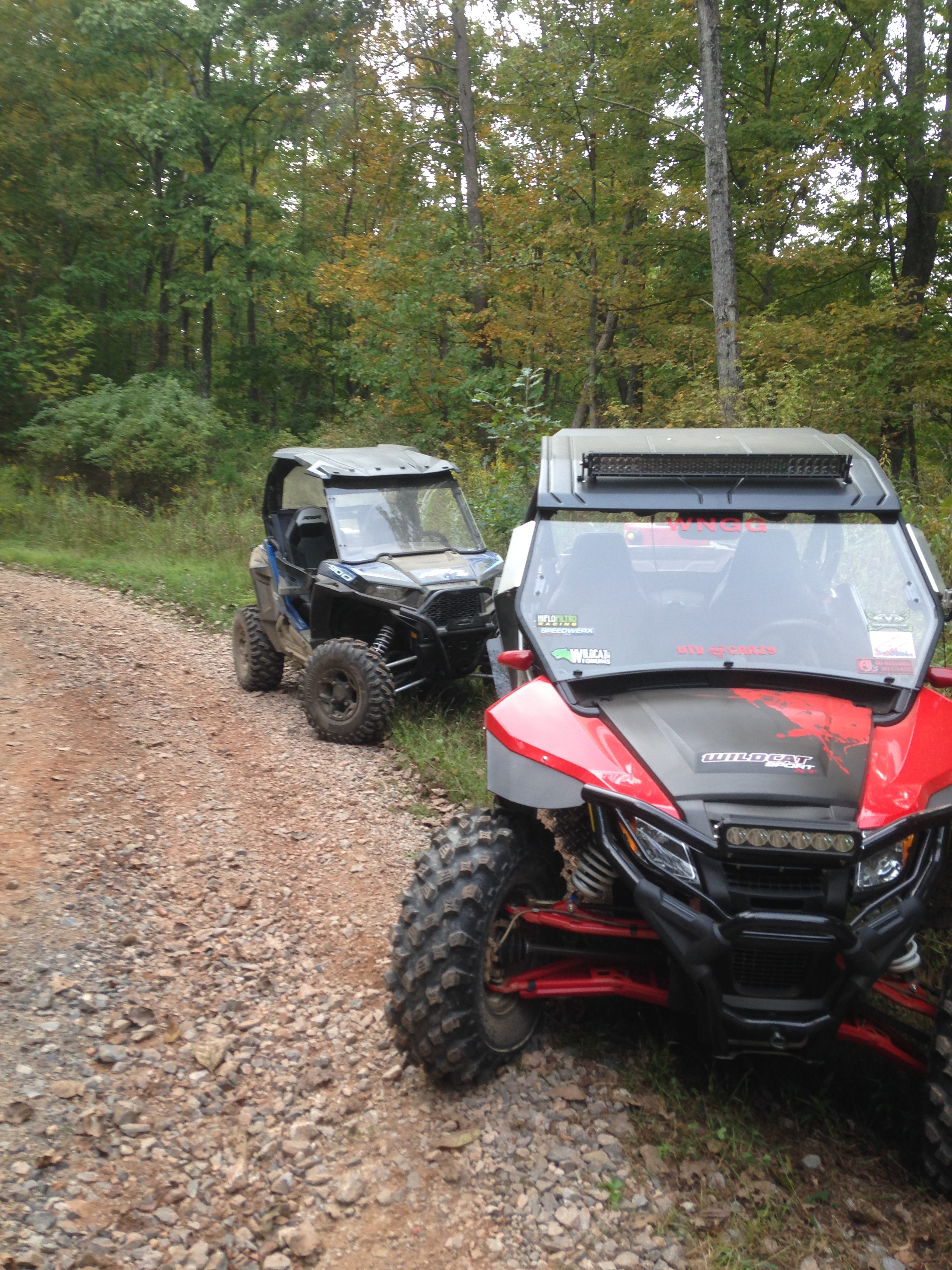 mounting light bar to arctic cat roof page 2