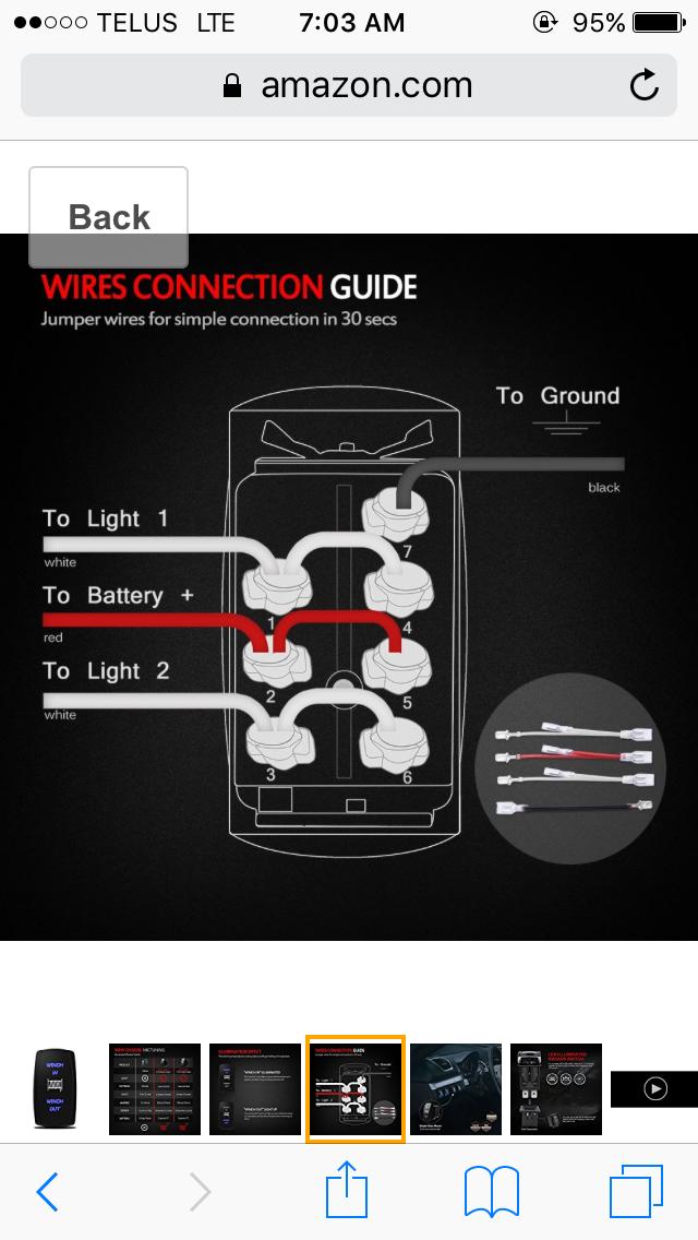 rocker switches for a winch rh wildcatforums net 12 Volt Winch Wiring Diagram 12 Volt Winch Wiring Diagram