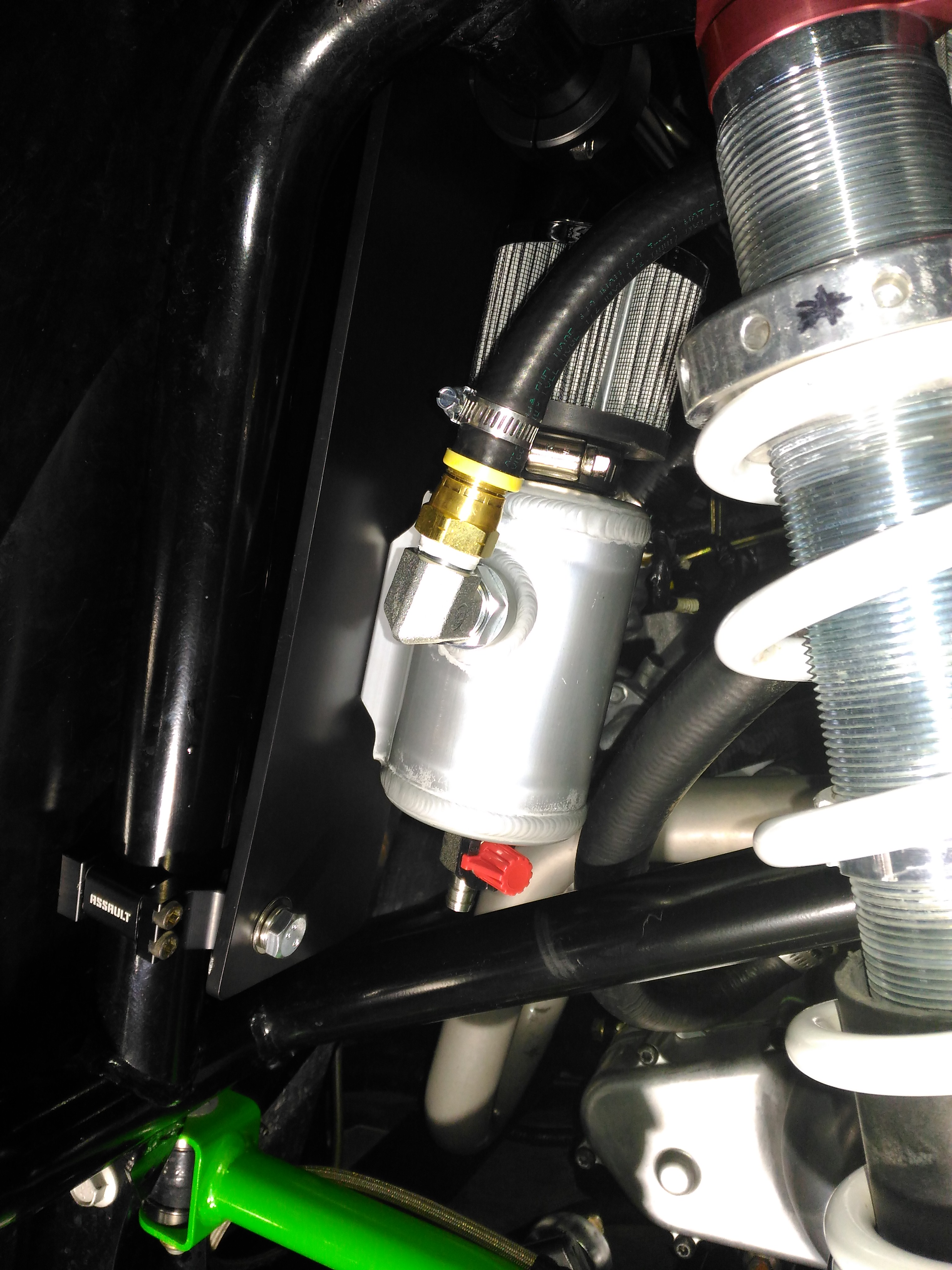 Crank case ventilation