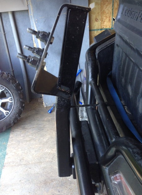 For Sale Wildcat 2 Quot Receiver Hitch And Spare Tire Carrier