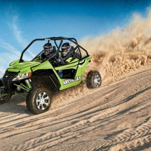 Arctic Cat WildCat Wallpaper - Sand