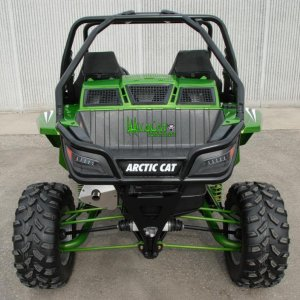 arctic cat wildcat back green