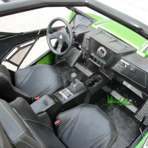 arctic cat wildcat interior