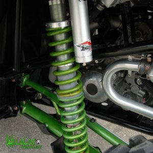 arctic cat wildcat suspension