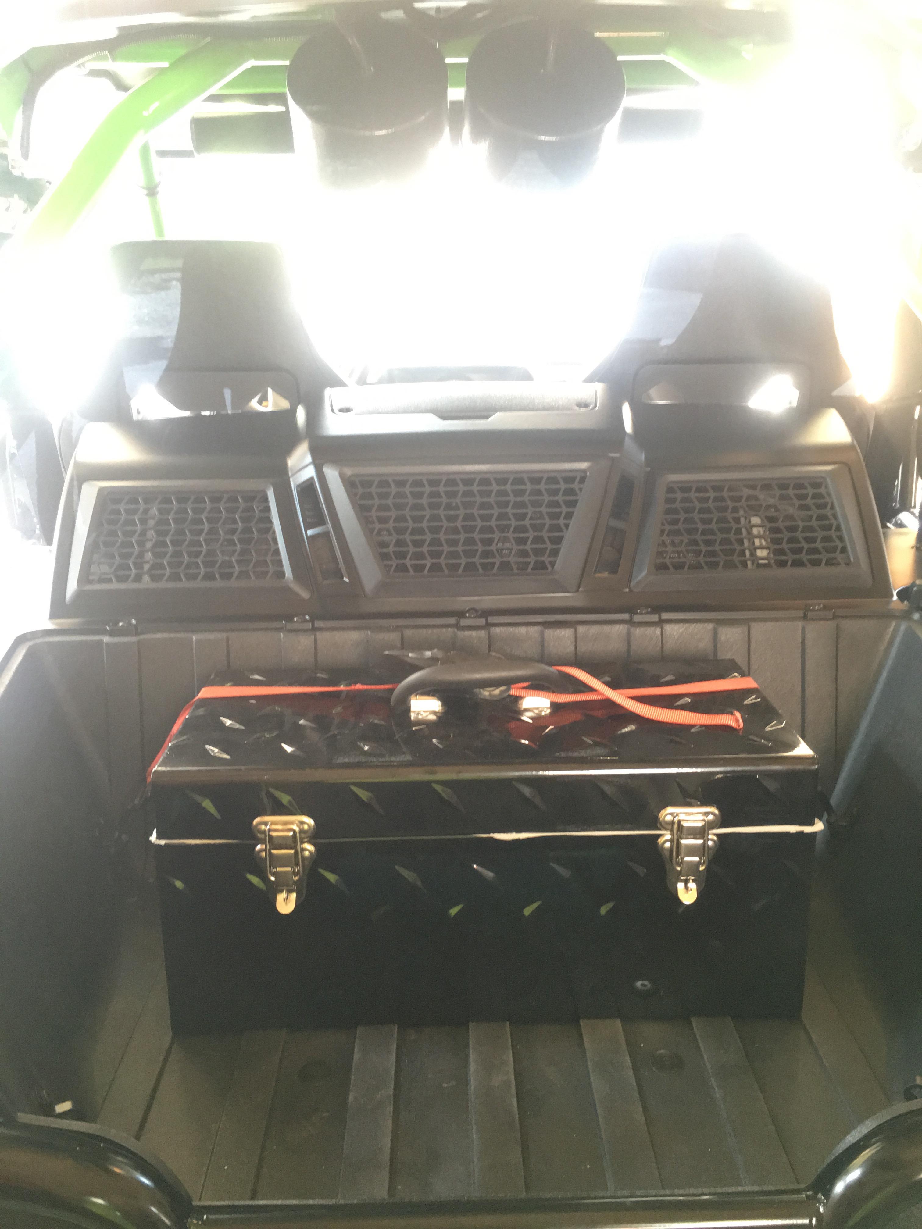 "21"" Husky tool box"